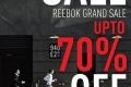 งาน Reebok Grand Sale up to 70% เสื้อผ้า เครื่องแต่งกาย รองเท้า  และอุปกรณ์กีฬา รีบอค ลดสูงสุด 70% ที่ ศูนย์การค้า เอ็ม บี เค  เซ็นเตอร์ วันที่ 11 ถึง 23 พฤศจิกายน 2559