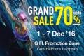 งาน Speedo Grand Sale ลด 70% ที่ เซ็นทรัลลาดพร้าว วันนี้ ถึง 7 ธันวาคม 2559