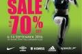 งาน Amarin Brand Sale Super Sports Sale Up To 70% เสื้อผ้า และ อุปกรณ์กีฬา แบรนด์ดัง ลดสูงสุด 70% วันนี้ ถึง 14 กันยายน 2559