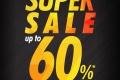 โปรโมชั่น Supersports SUPER SALE UP TO 60% อุปกรณ์กีฬา ลดสูงสุด 60% ที่ Central World วันที่ 8 ถึง 12 ธันวาคม 2559