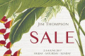 จิม ทอมป์สัน เซลส์ 2017 ลดสูงสุด 70% สินค้าคุณภาพ แบรนด์ จิม ทอมป์สัน ที่ ไบเทค บางนา วันที่ 2 ถึง 4 มิถุนายน 2560