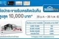สิทธิพิเศษ ลูกค้าบัตรเครดิต TMB  รับเครดิตเงินคืน สูงสุด 10,000 บาท เมื่อช้อปครบตามกำหนด ที่ โฮมโปร วันนี้ ถึง 26 กุมภาพันธ์ 2560