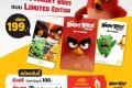 โปรโมชั่น แมคโดนัลด์ การ์ด ลายใหม่ Angry Birds Limited Edition สมัครวันนี้ รับฟรี บัตรกำนัล 100 บาท วันนี้ ถึง 31 สิงหาคม 2559 บัตรสมาชิกแมคโดนัลด์