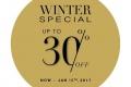 โปรโมชั่น Jaspal Winter Special ลดสูงสุด 30% ที่ร้าน Jaspal วันนี้ ถึง 15 มกราคม 2560