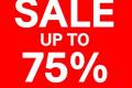 โปรโมชั่น H&M H&M END SEASON SALE สินค้า ลดสูงสุด 75% วันนี้เป็นต้นไป ถึง จนกว่าสินค้าจะหมด
