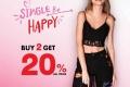 โปรโมชั่น PLAYBOY ต้อนรับเดือนแห่งความรัก Single Be Happy ซื้อ 2 ชิ้น ลด 20% และ เมื่อซื้อ Tops+Bottoms ลด 30% ที่ PLAYBOY Shop วันนี้ ถึง 28 กุมภาพันธ์ 2560
