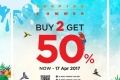 โปรโมชั่น PLAYBOY TROPIKA SUMMER ซื้อ 2 ชิ้น ลด 50% ที่ PLAYBOY Shop วันนี้ ถึง 17 เมษายน 2560
