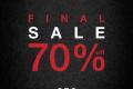 โปรโมชั่น CPS CHAPS End of Final SALE 70% off  สินค้าราคา สูงสุด 70% เริ่มวันที่ 2 มกราคม 2561