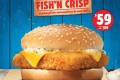 โปรโมชั่น เบอร์เกอร์คิง เบอร์เกอร์ปลา ฟิช แอนด์ คริสป์ ราคาพิเศษเพียง 59 บาท และ SPICY VEGGIE WHOPPER ราคา 99 บาท ที่ Burger King วันนี้ ถึง 28 กุมภาพันธ์ 2560
