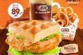 โปรโมชั่น A&W อิ่มสุดคุ้ม เซ็ท Chicken Waffle Combo ราคาเพียง 89 บาท (จากปกติ 149 บาท) ที่ เอแอนด์ดับบลิว วันนี้ ถึง 31 มีนาคม 2560