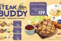 โปรโมชั่น ซานตาเฟ่ สเต๊ก Steak Buddy จับคู่เมนู ราคาพิเศษ ที่ Santa Fe' Steak วันนี้ ถึง 25 เมษายน 2560