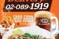โปรโมชั่น A&W Delivery สั่งครบ 300 บาท รับฟรี chicken waffle set มูลค่า 125 บาท วันนี้ ถึง 31 สิงหาคม โทรสั่งที่เบอร์ 02-0891919 เอ แอนด์ ดับบลิว เดลิเวอรี่