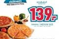 โปรโมชั่น โดมิโน่ พิซซ่า สไตล์นิวยอร์ก ราคาเริ่มต้นเพียง 139 บาท ที่ Domino's Pizza วันนี้ ถึง 31 กรกฎาคม 2560