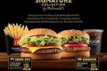 โปรโมชั่น แมคโดนัลด์ เบอร์เกอร์ เมนูพิเศษ เดอะ ซิกเนเจอร์ คอลเลคชั่น ที่ McDonald's วันนี้ ถึง จนกว่าสินค้าจะหมด