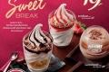 โปรโมชั่น แมคโดนัลด์ Sweet Break ไอศกรีม พร้อม คิทแคท เฟลก ราคาพิเศษ และ แมคโฟรเซ่น ลดราคา 50% ที่ Mcdonald's วันนี้ ถึง 28 กันยายน 2560