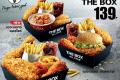 โปรโมชั่น KFC สำหรับทานที่ร้าน หรือซื้อกลับบ้าน ไก่จัดใหญ่ , KFC The Box , ชุดจุใจ , ชุดสุขใจ และ โปรโมชั่น KFC อื่นๆ