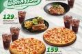 โปรโมชั่น เดอะ พิซซ่า คอมปะนี เมนู มื้อกลางวัน ราคาพิเศษ Lunch Special อิ่มคุ้ม เริ่มเพียง 99 บาท ที่ The Pizza Company วันนี้