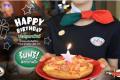 โปรโมชั่น ฉลองวันเกิด สุดพิเศษ ที่ เดอะ พิซซ่า คอมปะนี รับฟรี พิซซ่าถาดเล็ก พร้อมของขวัญ The Pizza Company สำหรับคนเกิดเดือน กุมภาพันธ์ 2561