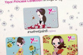 โปรโมชั่น ยาโยอิ บัตรสมาชิก โฉมใหม่ Yayoi Princess Collection ลายเจ้าหญิง 3 แบบ 3 ฤดู ที่ Yayoi วันนี้