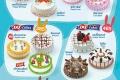 โปรโมชั่น บอกรัก ทุกโอกาสพิเศษ ด้วย แดรี่ควีน ไอศกรีมเค้ก ราคาเริ่มต้น 375 บาท ที่ Dairy Queen