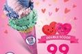 โปรโมชั่น Baskin Robbins ต้อนรับ วาเลนไทน์ ไอศกรีมดับเบิลสกู๊ป ราคาเพียง 99 บาท ตามเงื่อนไขที่กำหนด ที่ บาสกิ้น ร็อบบิ้นส์ วันที่ 14 ถึง 20 กุมภาพันธ์ 2560