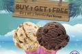 โปรโมชั่น Baskin Robbins ซื้อ 1 ฟรี 1 ไอศกรีม Fun Scoop เพียงแสดงภาพนี้ ที่ บาสกิ้น ร็อบบิ้นส์ วันนี้ ถึง 24 มีนาคม 2560