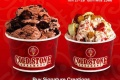 โปรโมชั่น ไอศกรีม Cold Stone ซื้อ 1 แถม 1 ฟรี เมื่อทำตามเงื่อนไข วันนี้ ถึง 28 กุมภาพันธ์ 2560