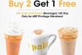 โปรโมชั่น โอ บอง แปง สมาชิก ABP Privilege Card เครื่องดื่ม ซื้อ 2 แถม 1 ฟรี ที่ Au Bon Pain วันนี้ ถึง 7 มกราคม 2561