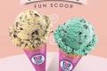 โปรโมชั่น Baskin Robbins ซื้อ 1 ฟรี 1 ไอศกรีม Fun Scoop ที่ บาสกิ้น ร็อบิ้นส์ วันนี้ ถึง 1 ตุลาคม 2560