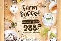 โปรโมชั่น ฟาร์มดีไซน์ บุฟเฟ่ต์ Farm Design Buffet On Tour ครั้งที่ 4 ราคา ท่านละ 288 บาท ทานได้ไม่อั้น ทุกเมนู ที่ Farm Design สาขาที่ร่วมรายการ วันนี้ ถึง 16 กรกฎาคม 2560