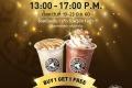 โปรโมชั่น TOM N TOMS COFFEE เครื่องดื่ม ซื้อ 1 แถม 1 ฟรี ที่ ทัม เอ็น ทัมส์ คอฟฟี่ วันที่ 19 ถึง 23 มิถุนายน 2560