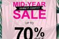 โปรโมชั่น ซาบีน่า Midyear sale UP TO 70% ลดสูงสุด 70% ที่ Sabina Shop วันนี้ ถึง 12 กรกฎาคม 2560
