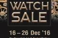 งาน CENTRAL WATCH SALE 2016 นาฬิกา ลดสูงสุด 30% และ ส่วนลดพิเศษสำหรับ The1Card ที่ เซ็นทรัล สาขาที่ร่วมรายการ วันนี้ ถึง 28 พฤศจิกายน 2559