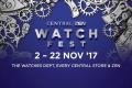 งาน Central / ZEN Watch Fest 2017 นาฬิกา ลดสูงสุด 30% ที่ เซ็นทรัล และ เซน วันนี้ ถึง 22 พฤศจิกายน 2560