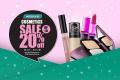 โปรโมชั่น วัตสัน Cosmetics Sale เครื่องสำอางค์ ลดราคา สูงสุด 20% ที่ Watsons วันนี้ ถึง 5 ธันวาคม 2560