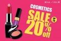โปรโมชั่น วัตสัน Cosmetics Sale เครื่องสำอางค์ ลดราคา สูงสุด 20% ที่ Watsons วันนี้ ถึง 1 ตุลาคม 2560