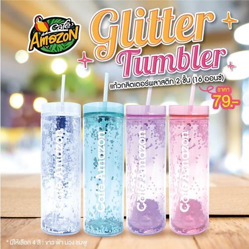 โปรโมชั่น แก้ว คาเฟ่ อเมซอล แก้ว Glitter Tumbler