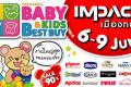 งาน Thailand BBB Baby & Kids Best Buy ครั้งที่ 34 งาน ช็อปเพื่อลูก ณ อิมแพ็ค เมืองทองธานี วันที่ 6 ถึง 9 มิถุนายน 2562