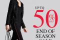โปรโมชั่น F Fashion End of Season SALE up to 50%off สินค้า ลดสูงสุด 50% วันนี้ ถึง 31 กรกฎาคม 2560