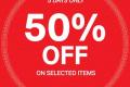 โปรโมชั่น H&M ต้อนรับ เทศกาลตรุษจีน สินค้า ลดสูงสุด 50% วันนี้ ถึง 5 กุมภาพันธ์ 2562