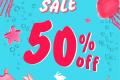 โปรโมชั่น Jelly Bunny End of Season Sale 50% off สินค้า ลดสูงสุด 50% ตั้งแต่วันนี้ ถึง 31 กรกฎาคม 2562