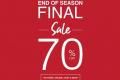 โปรโมชั่น CPS CHAPS End of Season Final Sale 70% off สินค้า ลดสูงสุด 70% วันนี้ ถึง 12 กรกฎาคม 2563
