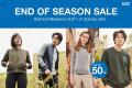 โปรโมชั่น AIIZ END OF SEASON SALE คอลเล็กชั่น รับลมหนาว WINTER 2018 สินค้า ราคาพิเศษ เสื้อผ้า ผู้หญิง ผู้ชาย วันนี้ ถึง 31 ธันวาคม 2561