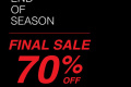 โปรโมชั่น CPS CHAPS Final Sale 70% Off สินค้า ลดสูงสุด 70% วันนี้ ถึง 11 กรกฎาคม 2564
