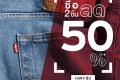 โปรโมชั่น ลีวายส์ ซื้อ 2 ชิ้น ลด 50% วันนี้ ถึง 4 พฤษภาคม 2564 ที่ Levi's สาขาที่ร่วมรายการ