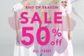 โปรโมชั่น Lyn Around End of season sale 50% off สินค้า ลดราคา 50% วันนี้ ถึง 14 กรกฎาคม 2564