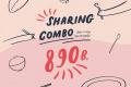 โปรโมชั่น On the Table SHARING COMBO เลือก 4 เมนู ราคาเพียง 890 บาท ที่ ออน เดอะ เทเบิ้ล วันนี้ ถึง 30 พฤศจิกายน 2561