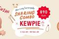 โปรโมชั่น On the Table Sharing Combo x Kewpie เลือก 4 เมนู ราคา 890 บาท ที่ ออน เดอะ เทเบิ้ล วันนี้ ถึง 30 พฤศจิกายน 2563