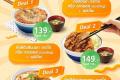 โปรโมชั่น คัตสึยะ ราคาพิเศษ เฉพาะซื้อกลับบ้าน และ Tonkatsu Mixed and Match อร่อยเลือกได้ ราคาเดียว ที่ Katsuya วันนี้ และ โปรโมชั่น สั่งผ่าน Grab Food และ Foodpanda