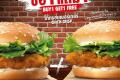 โปรโมชั่น เบอร์เกอร์คิง เบอร์เกอร์ ไก่กรอบ ซื้อ 1 แถม 1 ฟรี และ ออเนียน ริงส์ ลด 50% และโปรโมชั่นอื่นๆ ที่ BurgerKing วันนี้